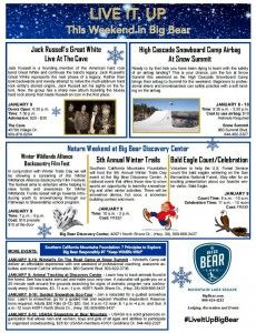 Big Bear this weekend - SNOW • Big Bear Lake Real Estate - Jane Brayton