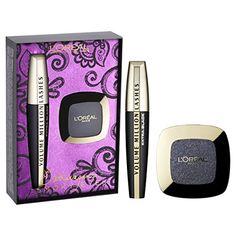 From 9.24 L'oreal Cosmetics Parisian Smokey Eyes Gift Set