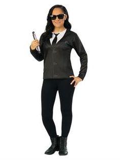 Men in Black 4 Agent EM Costume Top Adult - SpicyLegs.com