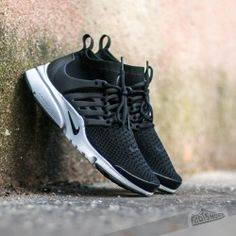 sale retailer 3a1a0 084f4 Nike Air Presto Flyknit Ultra Black  Black- White- Electric Green Air Max  Sneakers