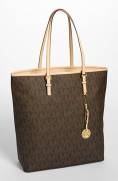 c57646ca4a4e MICHAEL Michael Kors 'Jet Set - Signature' Tote, Extra Large available at #