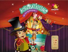 illustrateur jeunesse - Accrobatissimo - Asmodée