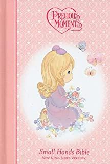 Whimsical and nostalgic Precious Moments Characters delight little hearts! This full-color hardcover with Precious Moments illustrations is a full-text New King James Version Bible. Available in pink for girls and blue for boys! The Precious Moments bra Bible News, Children's Bible, Thank You For Loving Me, Precious Moments Figurines, New King James Version, Family Events, Dear God, Names Of Jesus, Little Ones
