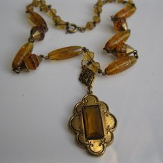 Vintage 1930s Wedding Necklace Victorian Revival by unionmadebride, $125.00