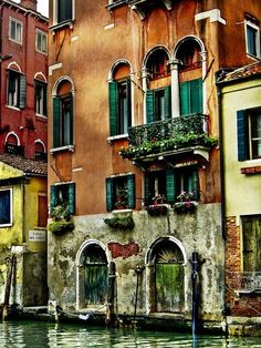 Houses in Venice, Italy. Can't wait to visit here in the next couple weeks! - Houses in Venice, Italy. Can't wait to visit here in the next couple weeks! Oh The Places You'll Go, Places To Travel, Places To Visit, Travel Destinations, Rome Florence, Magic Places, Voyage Europe, Belle Photo, Dream Vacations