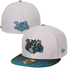 69e3b1b3dd4 Buy New Era Charlotte Hornets Grada Hook Fitted Hat - White from the Online  Store of the Charlotte Hornets. Hornets fan buy New Era Charlotte Hornets  Grada ...