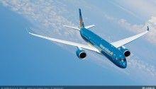 Vietnam Airlines : Airbus A350-900 XWB en vol