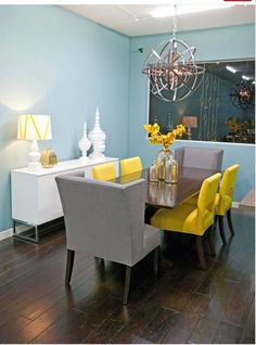 Colorful Dining Room By HGTV Design Star Runner Up Britany Simon