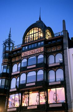 Old England, Art Nouveau Brussels