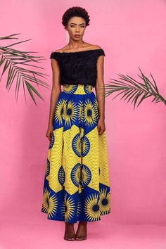 Made to Order Ankara maxi skirt Maxi skirt is handmade with 100% cotton ankara Fabric. Orders will take 7-10 days to process. Please take measurement of your waist and waist to hem length, send to us when you order. Standard Size Measurements are as follows: Size chart UK 4, US 0 Bust :