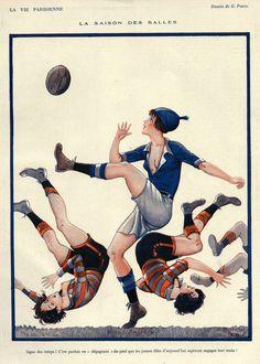 Georges Pavis (1886 – 1977). La Vie Parisienne, 1924. [Pinned 15-iii-2015]