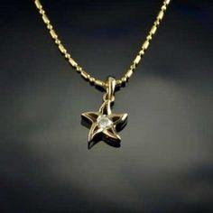 Diamond Starfish Pendant - Starfish Jewelry by Baytowne Jewelers, Destin FL #solitairestarfish