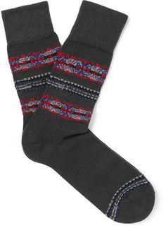 Falke Lhasa Fair Isle Knitted Socks