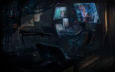Image Hacker Art 109 in Hacker Art album Hacker Art, Post Apocalyptic Movies, Episode Backgrounds, Character And Setting, Sci Fi Characters, Cyberpunk 2077, Shadowrun, Story Inspiration, Pixel Art