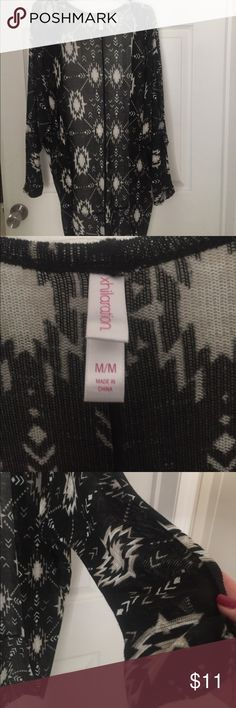 Size medium long sweater Long sweater from target. In great condition Xhilaration Sweaters Shrugs & Ponchos