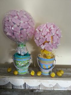 Cute marshmallow rabbits, sweet tree by lily-pops sweet trees.