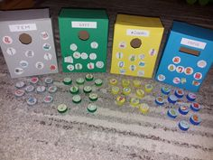 Green Table, Earth Day, School Projects, Kindergarten, Crafts For Kids, Preschool, Recycling, Pranks, Yard Sticks