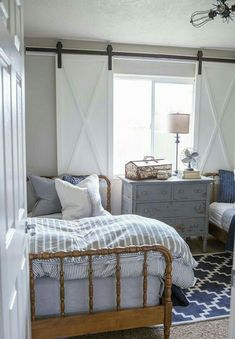 Rustic cottage bedroom with a cozy cottage feel