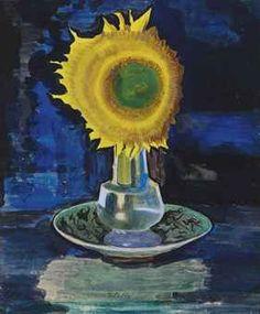joseph stella paintings   Joseph Stella (1877-1946) Sunflower