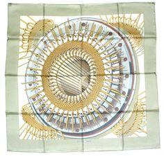 Hermès - Rouages, signé P.Péron