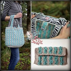 I Heart U, Ma! purse and wallet by Katy Petersen, pattern for purchase