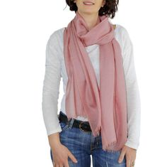 Cashmere Scarf, ROSE spring Scarf, DIRTY PINK, Pashmina, Spring shawl, Summer scarves, cashmere scarf Wrap, pink cashmere, oversized scarf
