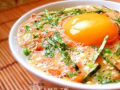 ✿つゆ+塩麹☆とろろ納豆ご飯✿の画像