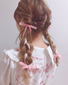 ♥ The Cutest Monthly Kawaii Subscription Box ♥ Receive cute items from Japan & Korea every month ♥ Kawaii Hairstyles, Pretty Hairstyles, Hair Inspo, Hair Inspiration, Lolita Hair, My Hairstyle, Aesthetic Hair, Hair Goals, Hair Makeup