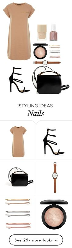 Two by honeyat on Polyvore featuring Givenchy, Madewell, MAC Cosmetics, Jack Spade, Nails Inc. and Essie
