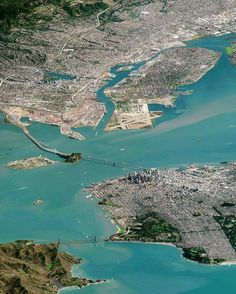 San Francisco Bay area, Alameda, Bay Bridge and Golden Gate Bridge San Francisco California, San Francisco Bay, San Diego, Alameda California, California Usa, San Francisco Sites, Places To Travel, Places To Visit, Pacific Coast Highway