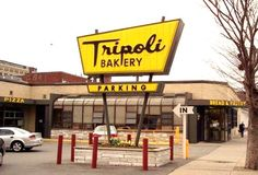 Tripoli Bakery - a Lawrence, MA, landmark. LOVE their pizza.