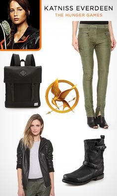 Halloween Costume Idea: Katniss from The Hunger Games