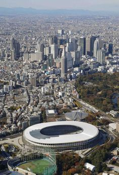 Japan New National Stadium Tokyo Olympics 2020 002 2020 Olympics, Tokyo Olympics, National Stadium, Tokyo 2020, Japan News, Sapporo, Travel Tips, River, Destinations