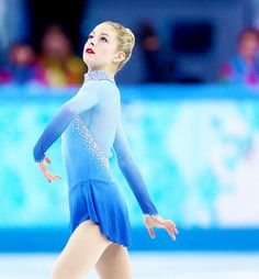 Gracie Gold shines in the ladies' free program, helping Team USA clinch the bronze medal for team figure skating. Gracie Gold, Winter Olympics 2014, Ice Skating Dresses, Ice Princess, Contemporary Dance, Team Usa, Beautiful Love, Olympians, Olympic Games