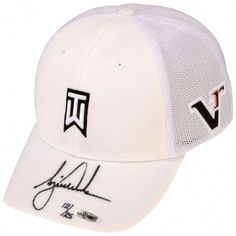 ed905f7132ffb Tiger Woods Autographed White Victory 2012 Cap - Limited Edition of 25 -  Upper Deck