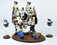 davetaylorminiatures: Tau Riptide - Finished!