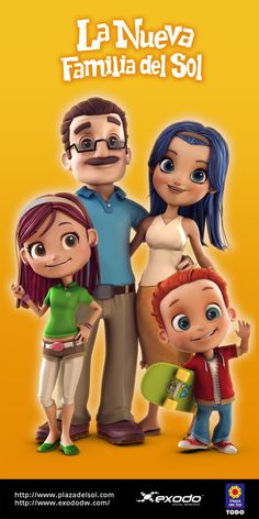 3D Family Characters