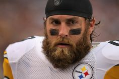 I just can't get enough of him and that beard!...Brett Keisel