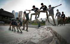 high speed photography, skate boarding, sports photography