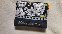 """Schminktäschchen - NEU! NEU! Kosmetiktäschchen """"S"""" - ein Designerstück von Hampelmaennchen bei DaWanda"""
