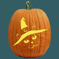 """One of 700+ FREE stencils for pumpkin carving and more! www.pumpkinlady.com """"My Turn"""" #FreePumpkinCarvingPattern"""