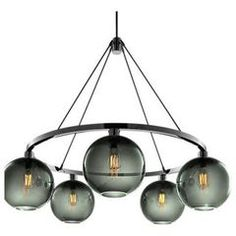 modern chandeliers by Niche Modern