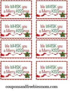 DIY Holiday Gift: We Whisk You A Merry KISSmas - Coupons and Freebies Mom
