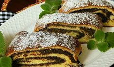 Makový závin z kynutého cuketového těsta Strudel, Love Cake, French Toast, Sandwiches, Food And Drink, Bread, Breakfast, Sweet, Recipes