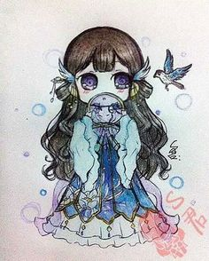 cute,anime drawings~