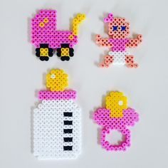 Baby stuff hama beads by _the_creative_girls_