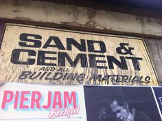 Sand & Cement, Yellow Levenshulme, by Emily Cheese