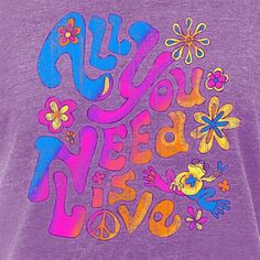 Love is all you need. Hippie Peace, Hippie Love, Hippie Chick, Hippie Art, Hippie Style, Love Is Everything, All You Need Is Love, Peace And Love, Peace On Earth