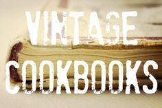 The Vintage Recipe Project is a labor of love to preserve the recipes of our past. Join our historical journey of food through the decades. Find vintage recipes, old terms, ingredients, and more. Best Cake Recipes, Old Recipes, Vintage Recipes, Other Recipes, Cookie Recipes, Vintage Food, Family Recipes, Recipe Cards, Recipe Box