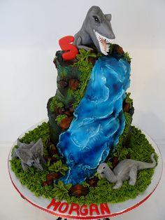 Dinosaur birthday cake....Karen's Kakes